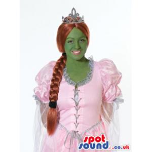 Fiona Ogre Princess Shrek Character Adult Size Costume - Custom