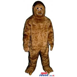 Amazing And Realistic Brown Ape Animal Plush Mascot - Custom