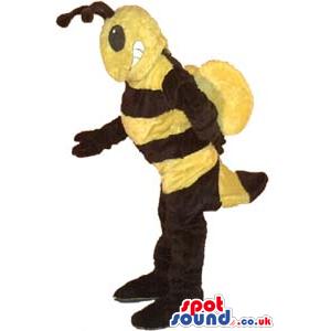 Yellow And Black Bee Insect Plush Mascot - Custom Mascots