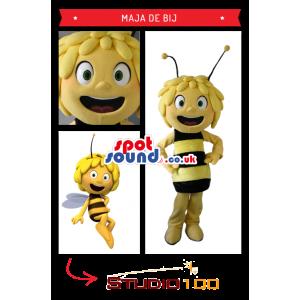 Popular Maya Bee Character Mascot - Custom Mascots