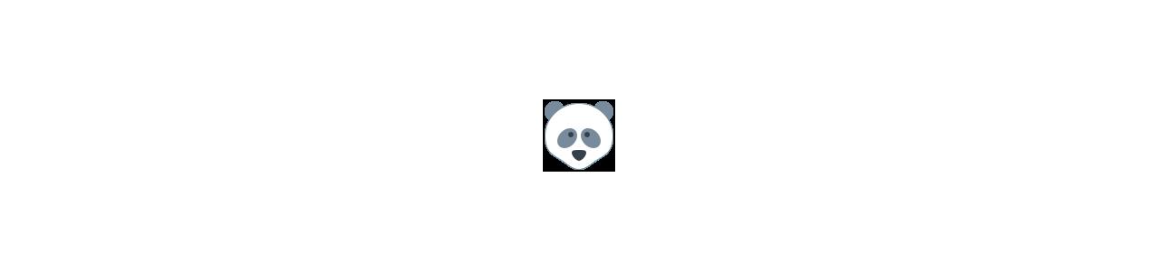 Buy Mascots - SPOTSOUND UK -  Mascot of pandas