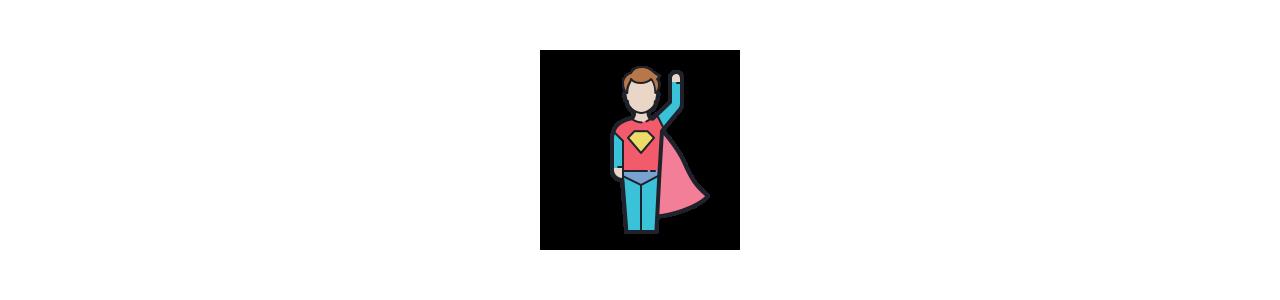 Buy Mascots - SPOTSOUND UK -  Superhero mascot