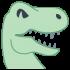 Mascots dinosaur