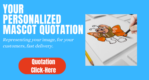 Personnalized mascot quote